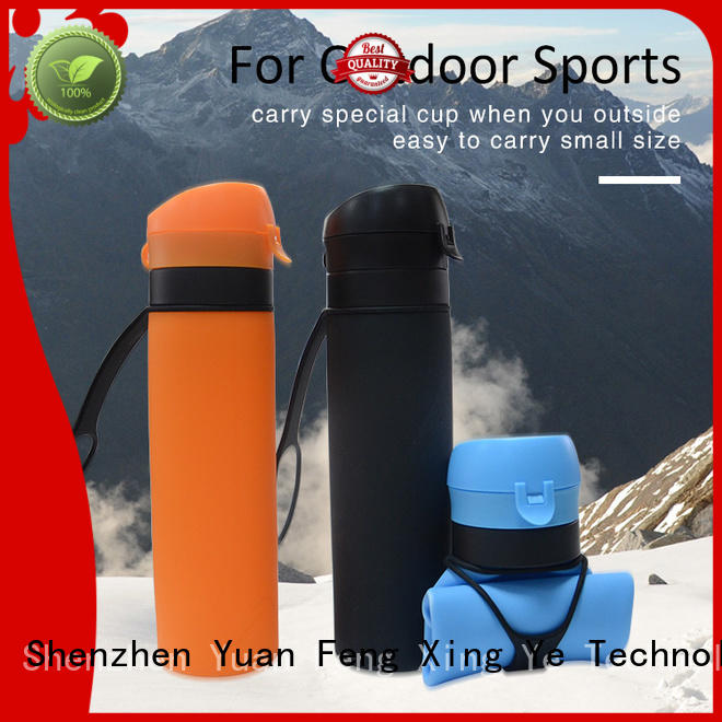 water collapsible camping kettle storage Mitour Silicone Products company