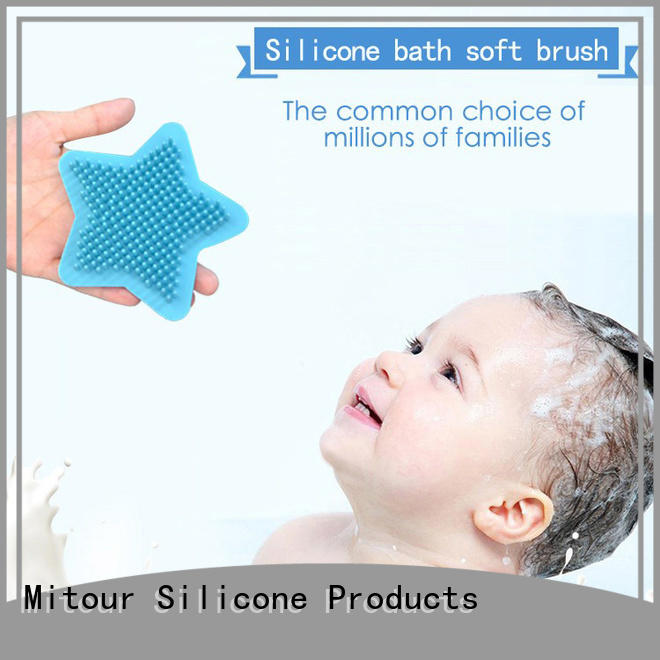durable silicone bristle face brush for business for bath