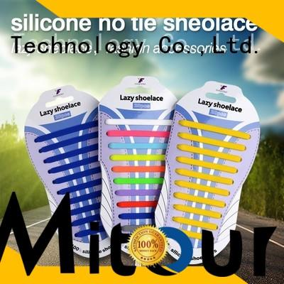 cheap no tie shoelaces silicone free sample for boots
