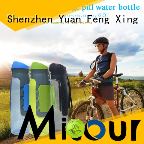 portable silicone water bottle supplier for water storage