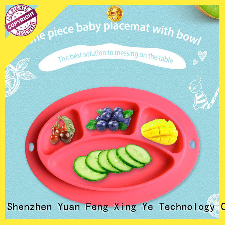 placemat silicone kids placemat bulk production for baby