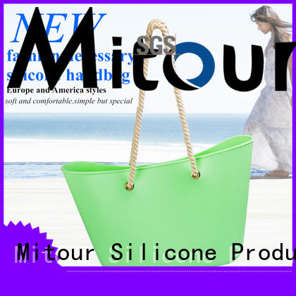 Mitour Silicone Products Best tote handbag factory for girls