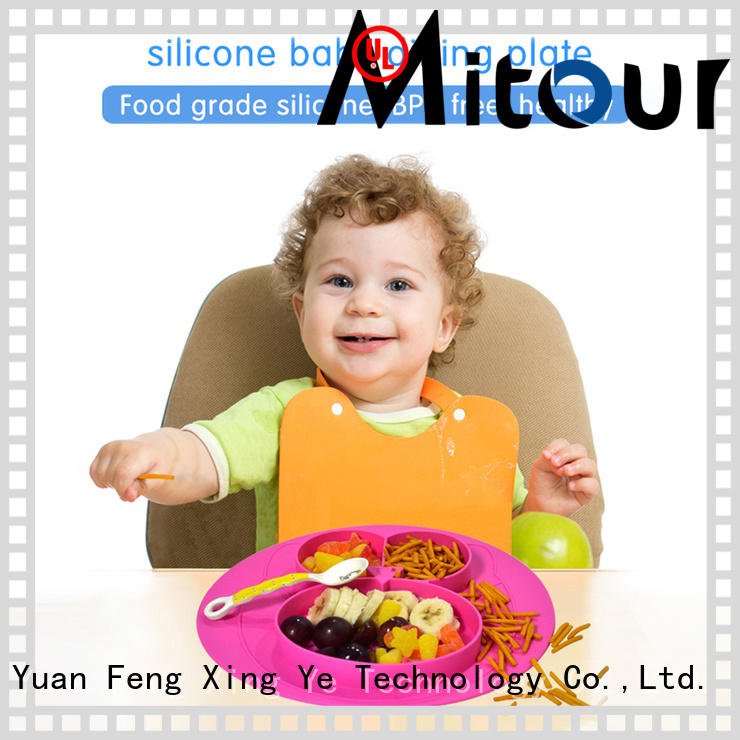 silicone silicone placemat for babies bulk production for children Mitour Silicone Products