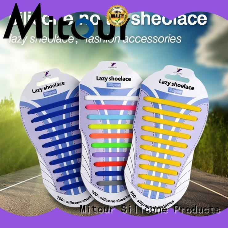 Mitour Silicone Products high-quality nike shoelaces for child