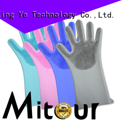 Mitour Silicone Products Custom cotton oven mitts customization for kitchen