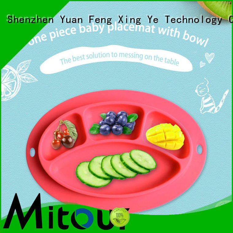hot-sale baby plate silicone for children