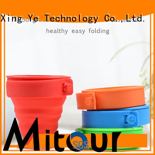 Mitour Silicone Products New goglass water bottle for wholesale for children