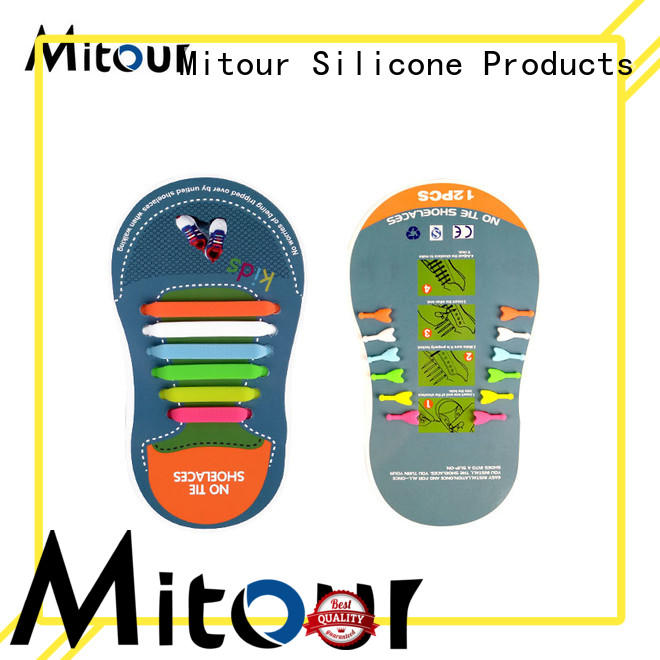 Mitour Silicone Products silicone laces shoelaces for child