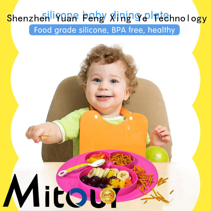 Mitour Silicone Products hot-sale felt placemats manufacturers for children