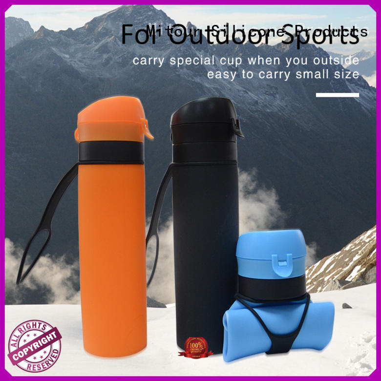 squeeze silicone milk bottle sports for children Mitour Silicone Products