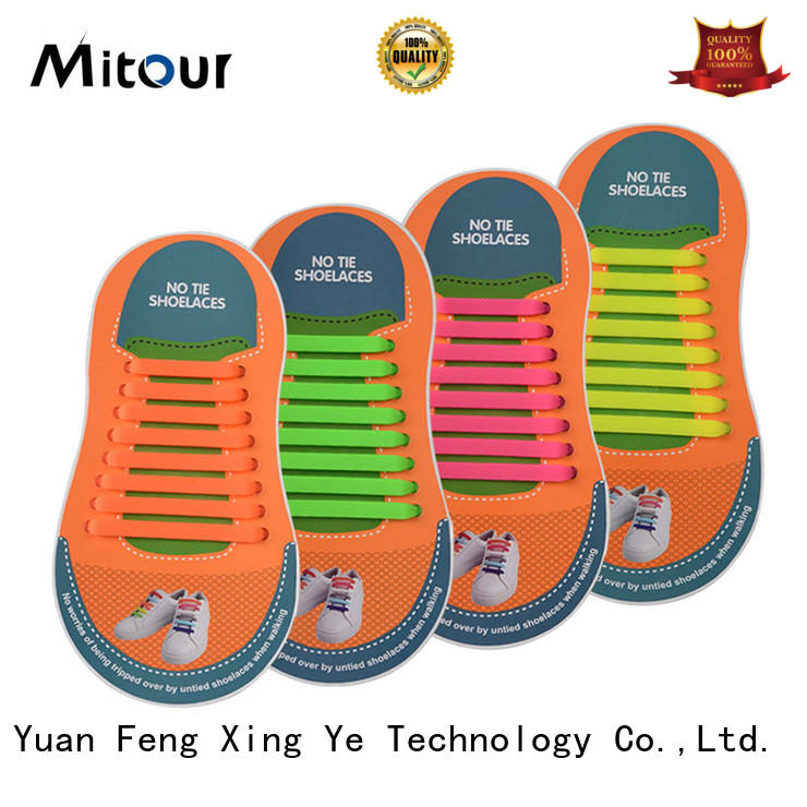 Mitour Silicone Products cheap no tie shoelaces silicone for child