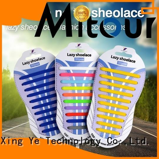 silicone shoelaces shoe laces for boots Mitour Silicone Products