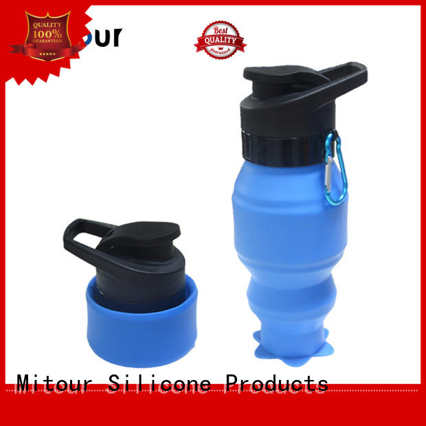 Mitour Silicone Products Brand cup sports water bottle silicone sleeve manufacture