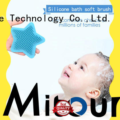 Mitour Silicone Products soft silicone skin brush bulk production for makeup