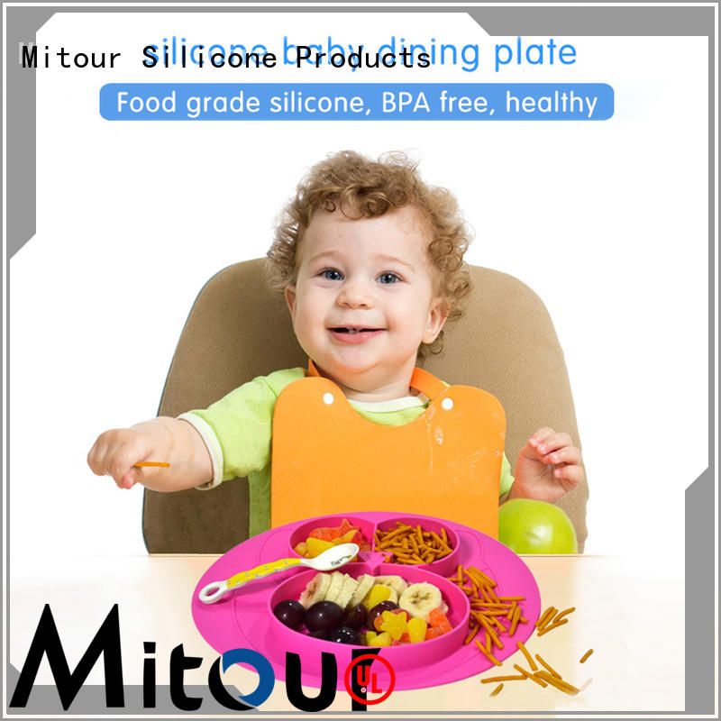Mitour Silicone Products silicone rubber placemats lunch for children