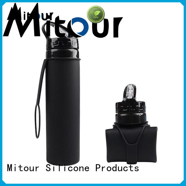 Mitour Silicone Products cup silicone travel bottles for wholesale for water storage