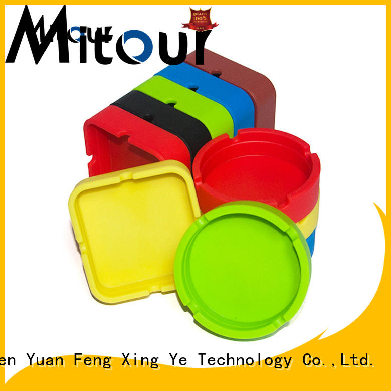 Mitour Silicone Products best quality skull ashtray manufacturers for smoking