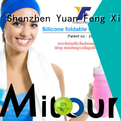 Mitour Silicone Products portable silicone bottle inquire now for children
