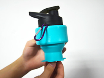 portable silicone bottle cup for wholesale for water storage-6