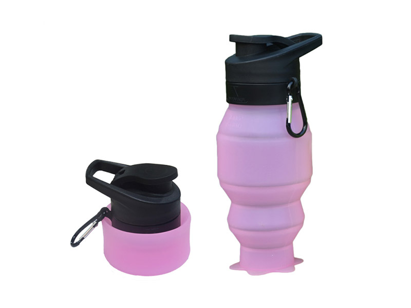 portable silicone bottle cup for wholesale for water storage-13