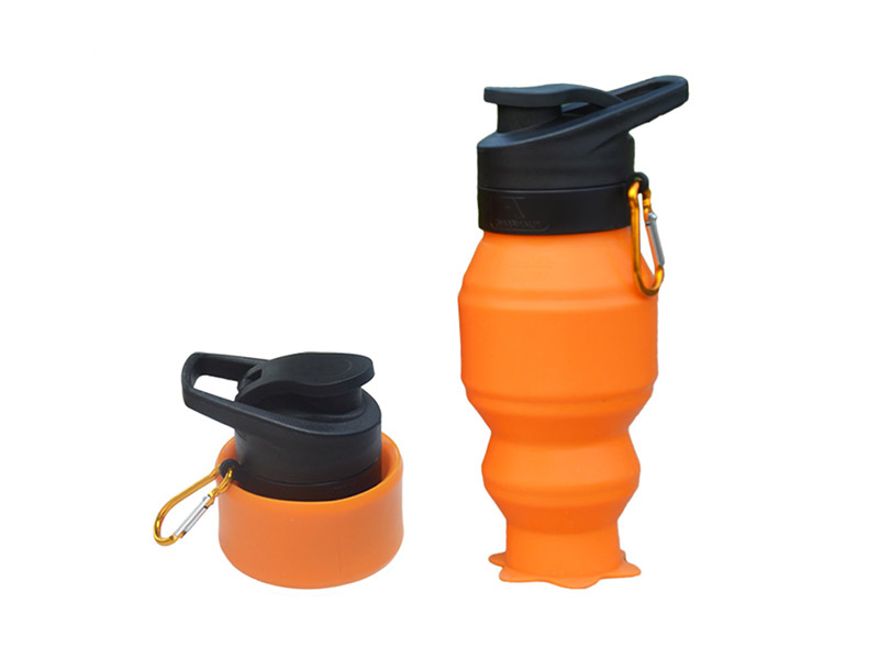 portable silicone bottle cup for wholesale for water storage-10