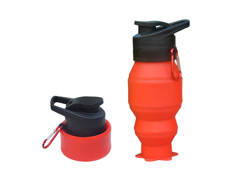 portable silicone bottle cup for wholesale for water storage-11