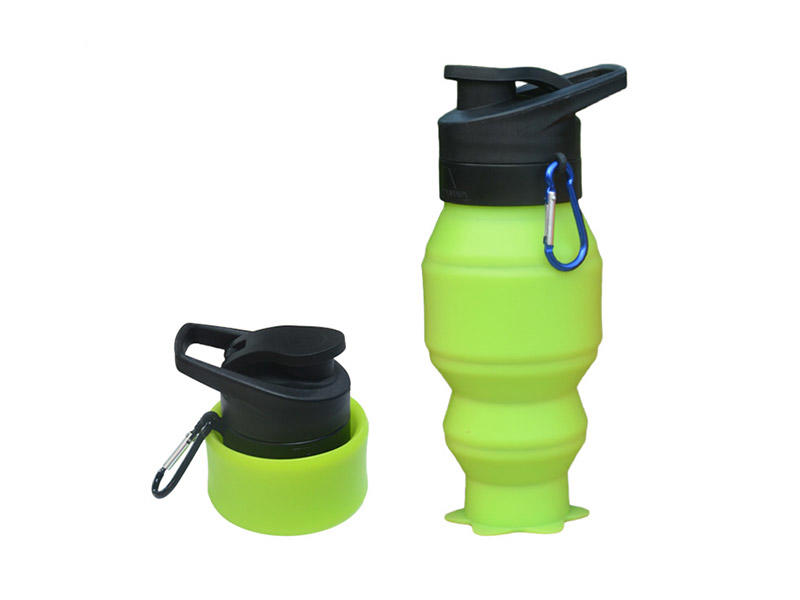 portable silicone bottle cup for wholesale for water storage