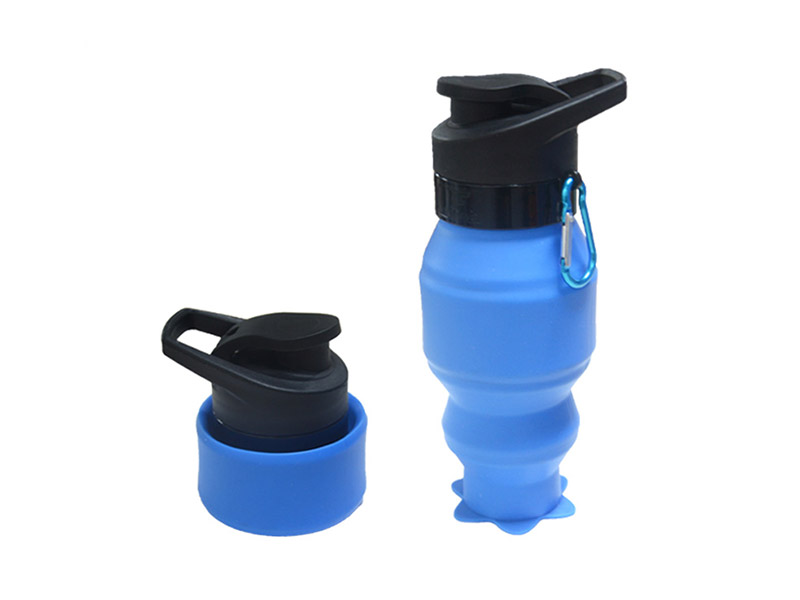 portable silicone bottle cup for wholesale for water storage-9