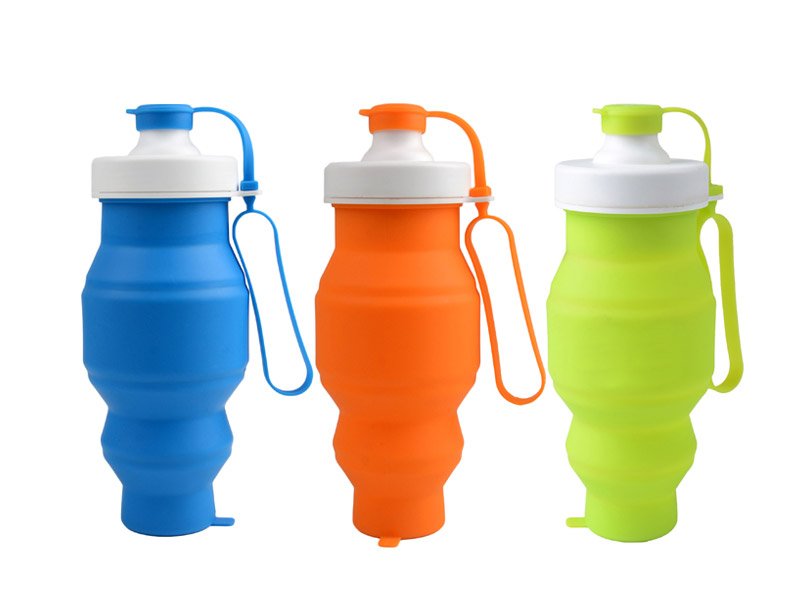 portable silicone bottle cup for wholesale for water storage-8