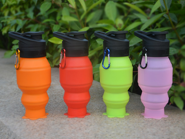 portable silicone bottle cup for wholesale for water storage-20
