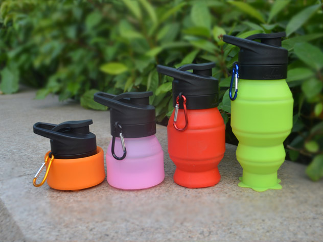 portable silicone bottle cup for wholesale for water storage-21