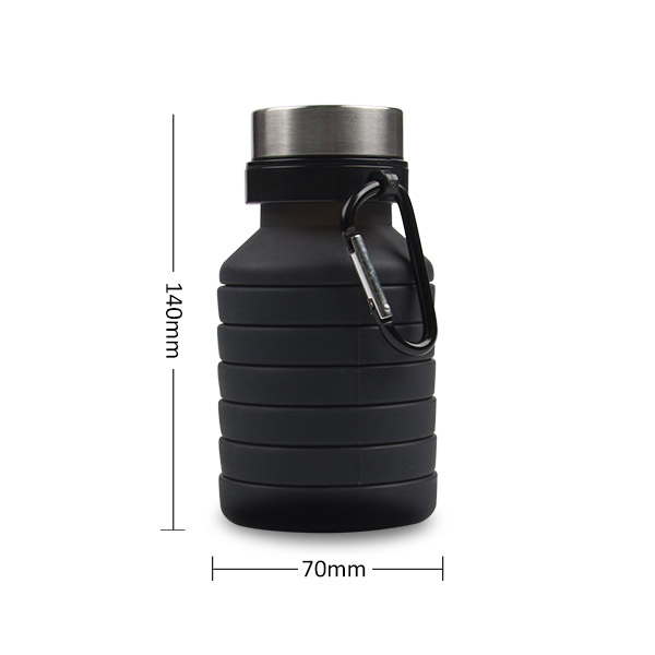 collapsible silicone milk bottle for children-2