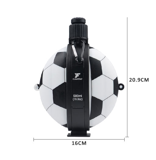 camouflage kids silicone water bottle football for water storage Mitour Silicone Products-3