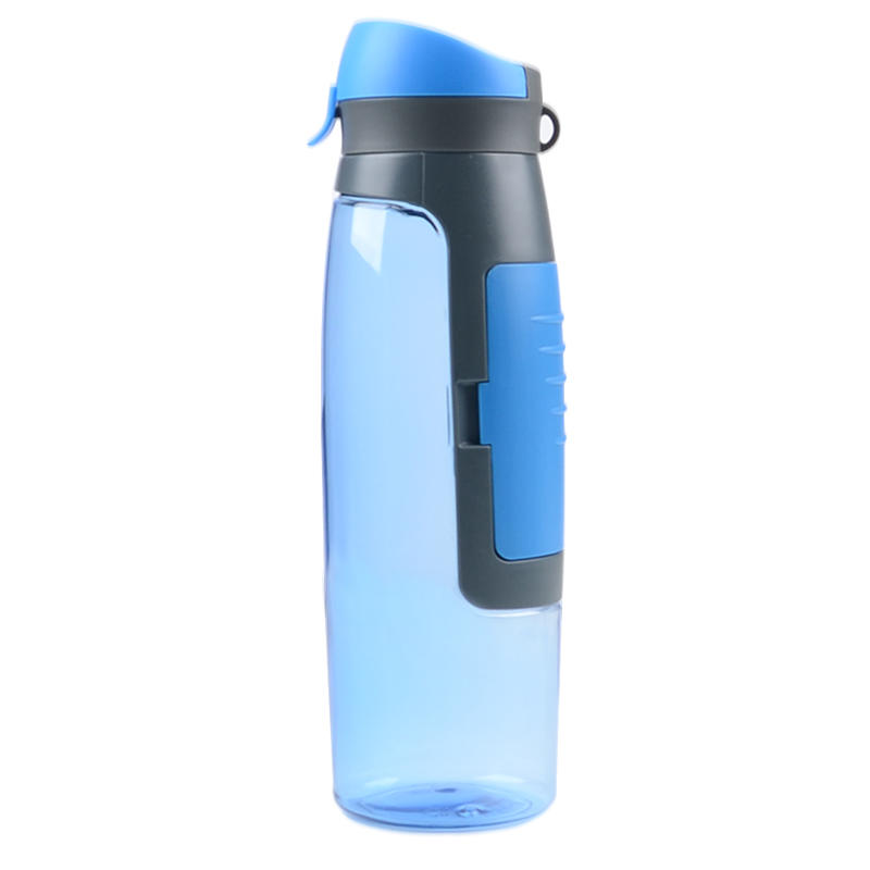 straight silicone foldable water bottle for water storage Mitour Silicone Products