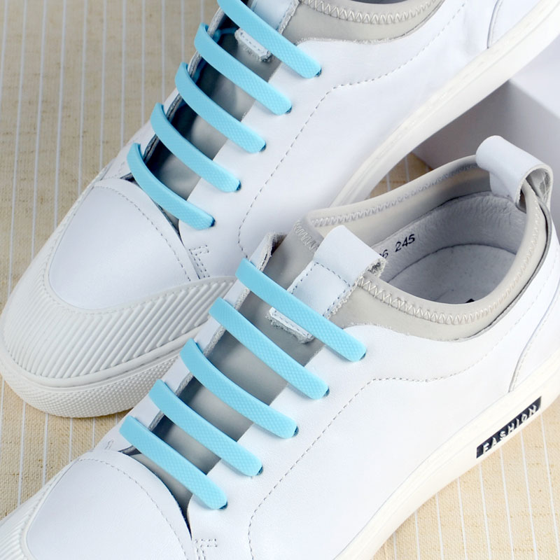 custom no tie elastic silicone shoelace inquire now for shoes Mitour Silicone Products-12