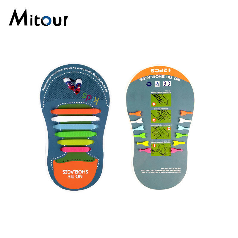 child shoelace silicone shoelace