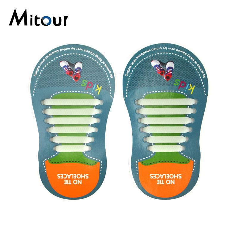 child shoelace silicone shoelace