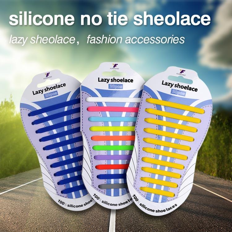 silicone no tie sheolace
