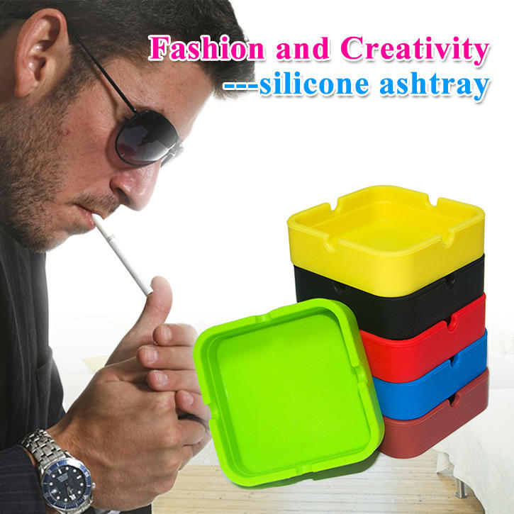 Custom Silicone Ashtray