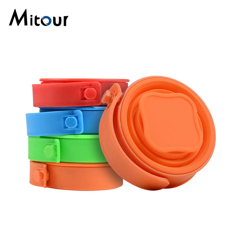silicone foldable cup
