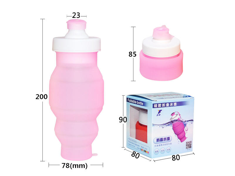 Mitour Silicone Products folding silicone collapsible bottle camouflage for children