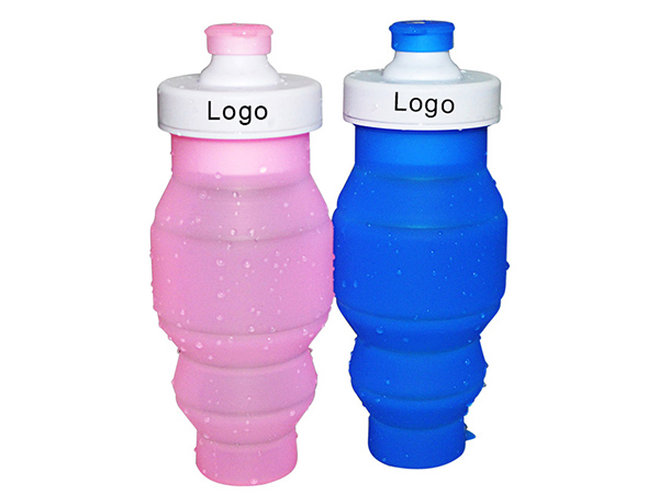 Mitour Silicone Products folding silicone collapsible bottle camouflage for children-12