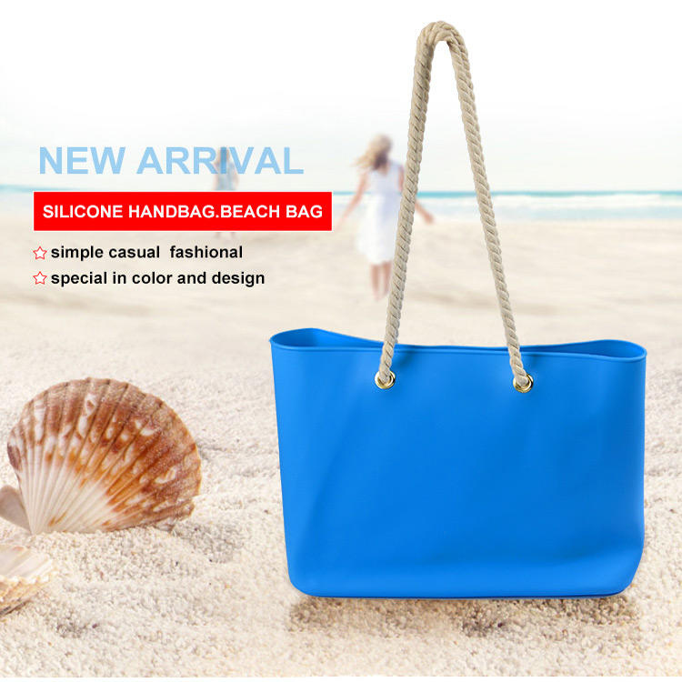 silicone handbag shoulder bag