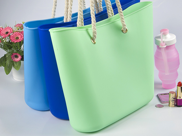 collapsible silicone vacuum bag custom tote for girls-12