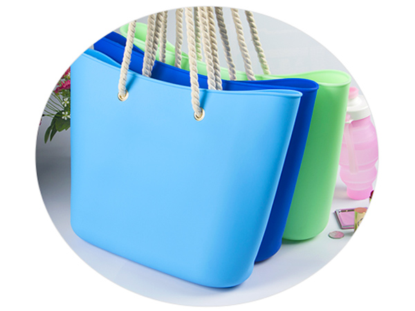 collapsible silicone vacuum bag custom tote for girls-6