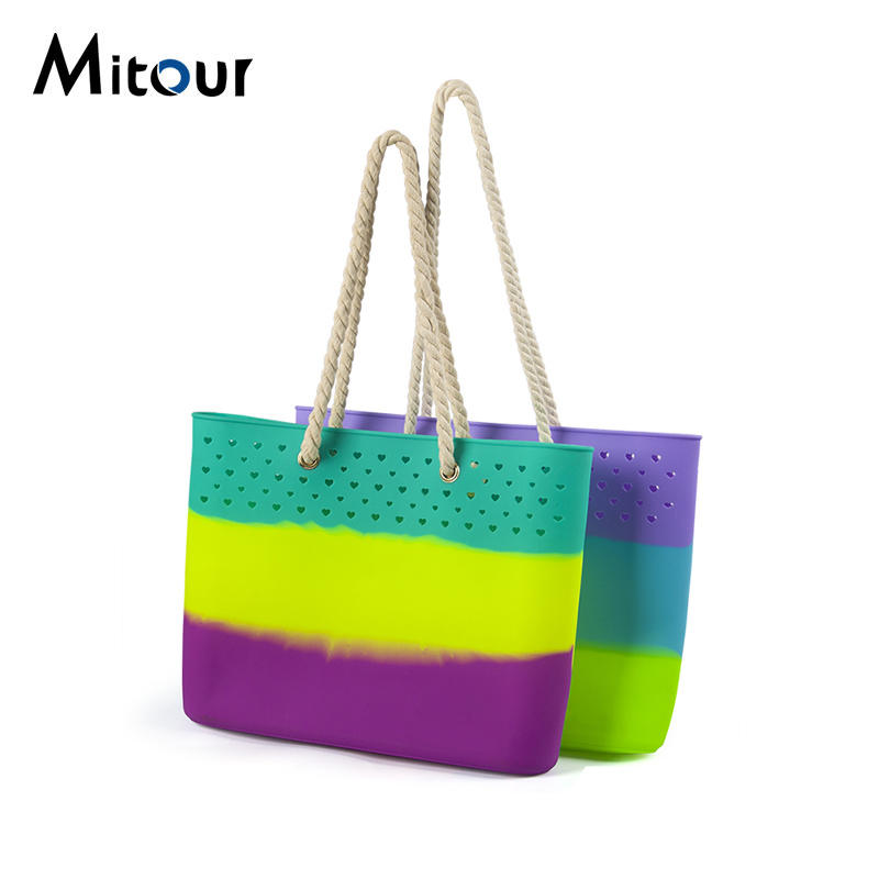 silicone handbag tote bag