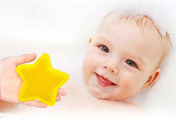 hot-sale silicone baby brush bulk production for shower