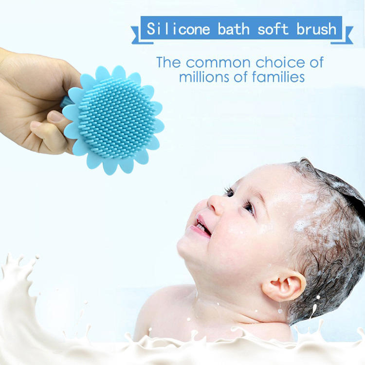 silicone bath soft brush