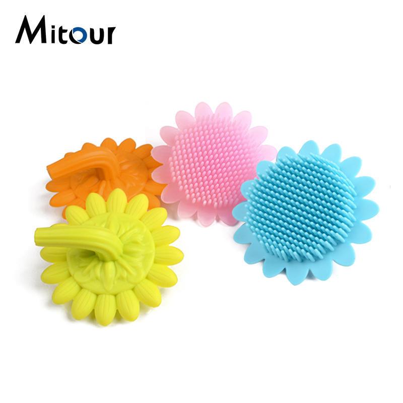 silicone bath soft brush