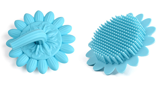 Mitour Silicone Products functional silicone spin brush for business for bath-4